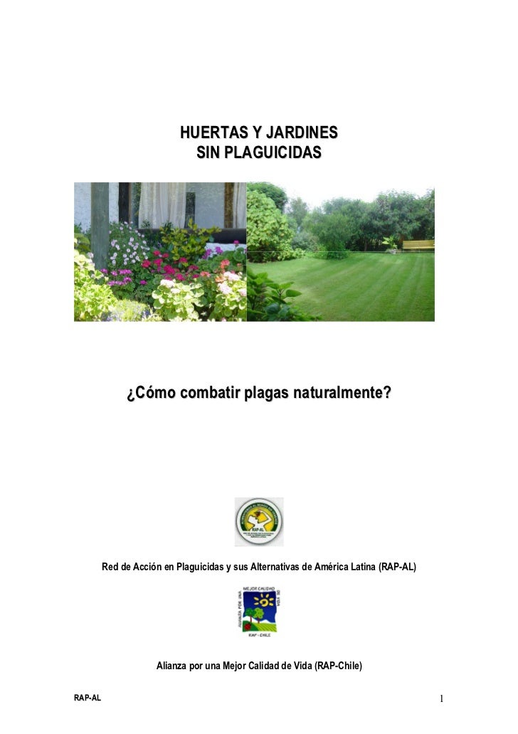 HUERTAS Y JARDINES                             SIN PLAGUICIDAS              ¿Cómo combatir plagas naturalmente?         Re...