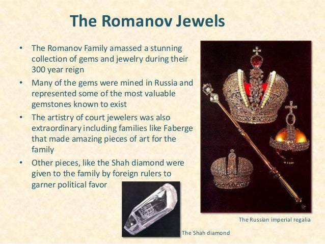 Russian Crown Jewels A Real Life Mystery