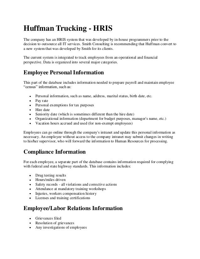 Bus 475 Week 3 Learning Team: Functional Area Interrelationships