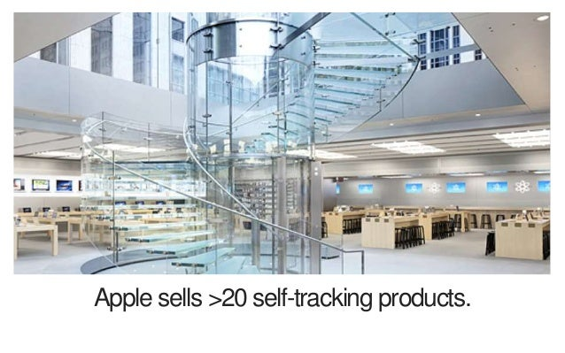 Apple sells >20 self-tracking products.
