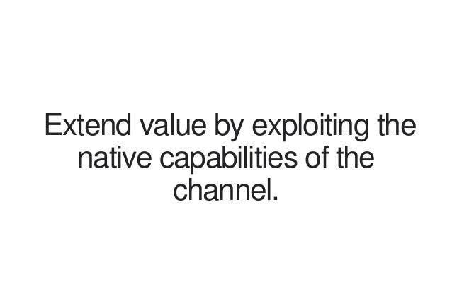 Challenge core business model assumptions.