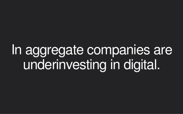 """Showing the value & ROI of digital isn't always straightforward. • """"What is the potential impact to the business?"""" • """"What..."""
