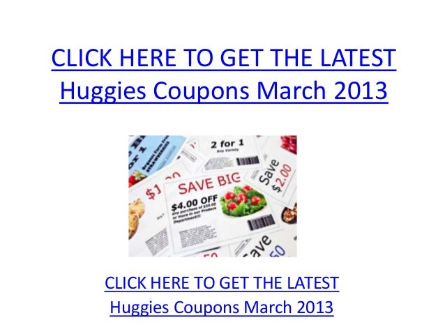 photograph relating to Printable Huggie Coupons called Huggies Coupon codes March 2013 - Printable Huggies Coupon codes March