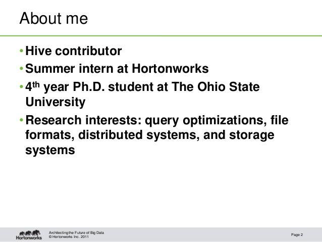 Hive Correlation Optimizer Slide 2