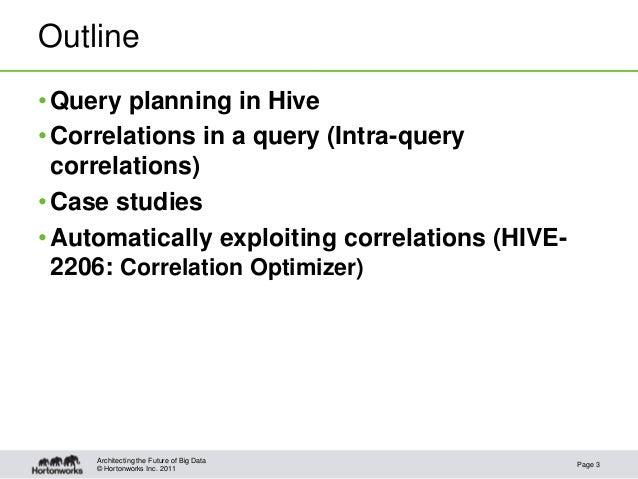 Hive Correlation Optimizer Slide 3