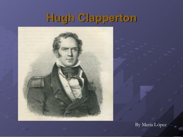 Hugh Clapperton  By María López