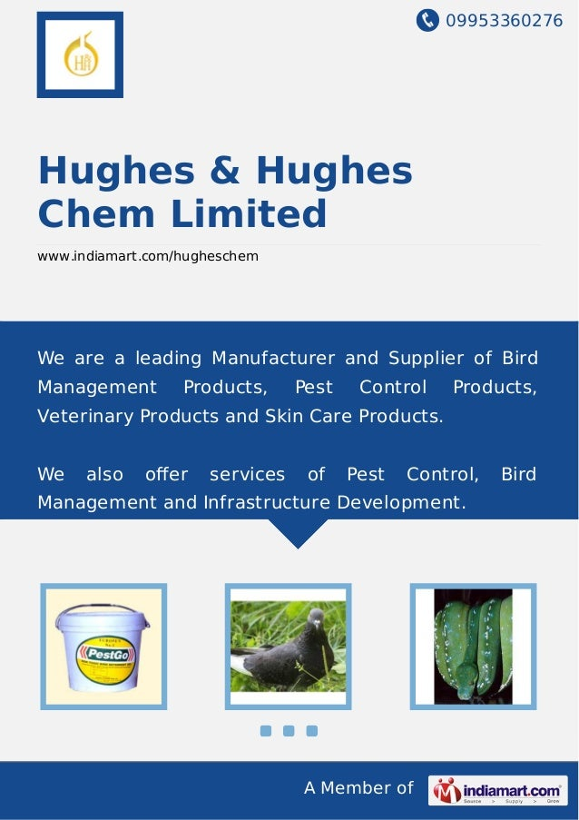 09953360276 A Member of Hughes & Hughes Chem Limited www.indiamart.com/hugheschem We are a leading Manufacturer and Suppli...