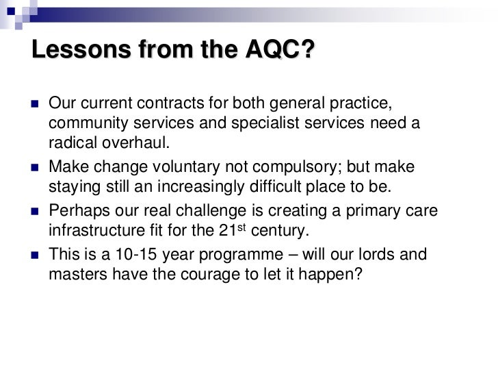 Hugh Reeve: How is the NHS in Cumbria adapting to lessons from the Alternative Quality Contract?