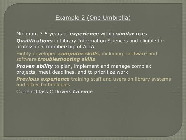 ability meet deadlines selection criteria australia