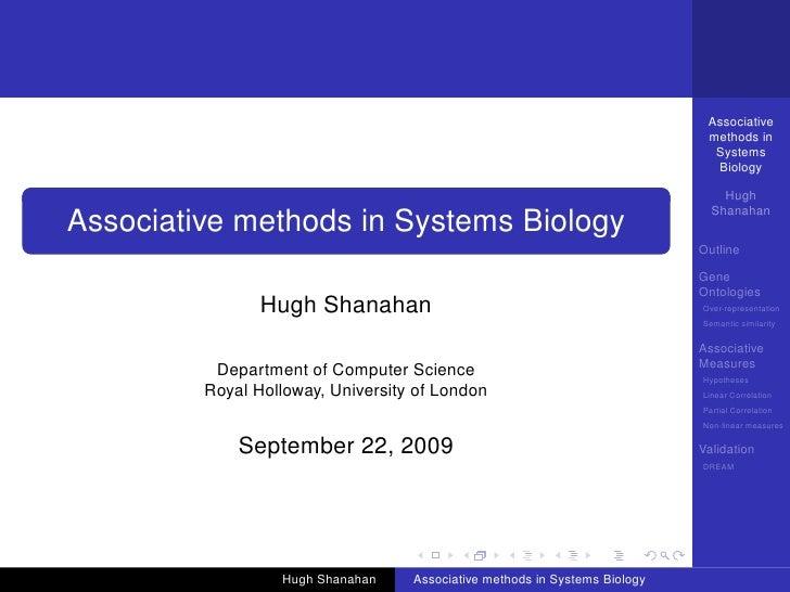 Associative                                                                              methods in                       ...