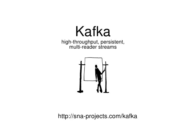 Kafka  high-throughput, persistent,  multi-reader streams http://sna-projects.com/kafka