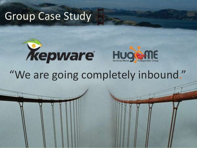 """Group Case Study """"We are going completely inbound."""""""