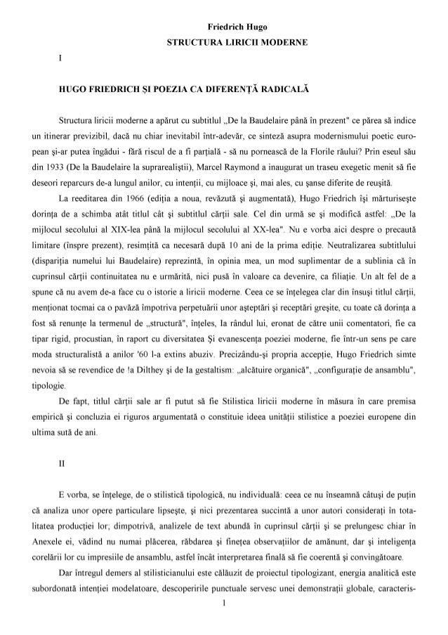 Hugo friedrich-structura-liricii-moderne