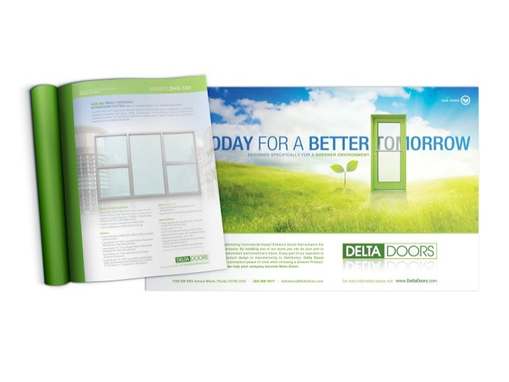 61. Advertising \u0026 Marketing Collateral/ DELTA DOORS™ ...  sc 1 st  SlideShare & Hugo Brioso   Corporate Identity Logo Design \u0026 Branding   Stationery\u2026