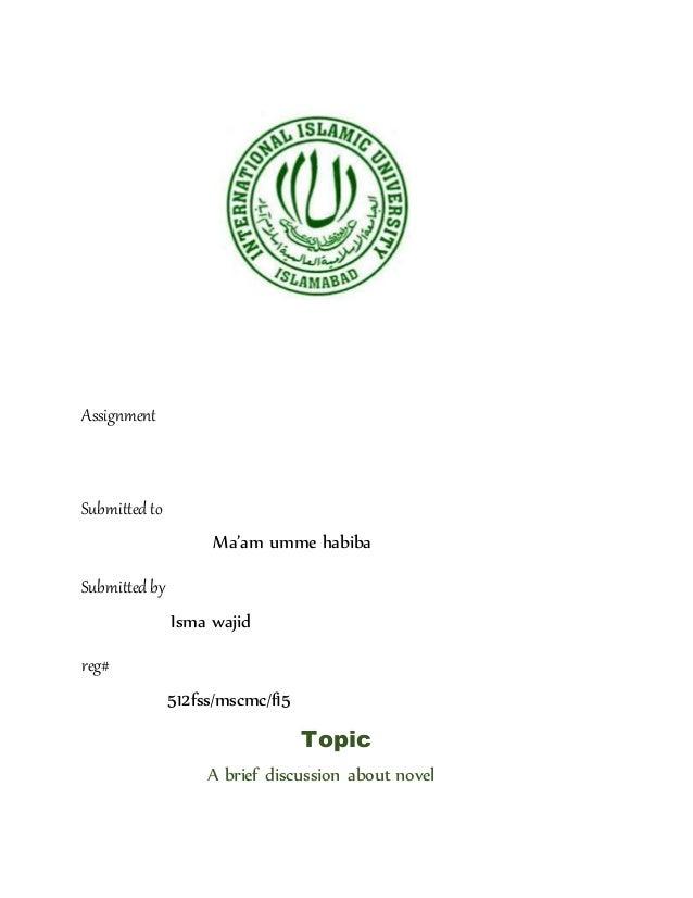 urdu novel discription