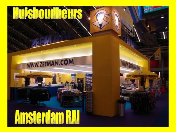 Huishoudbeurs Amsterdam RAI