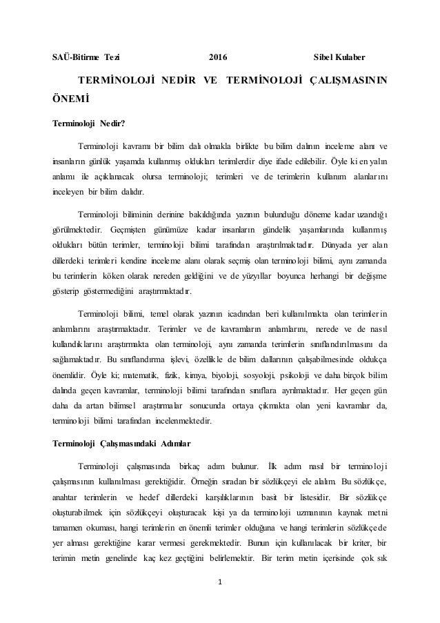 Hukuk Terminolojisi 2