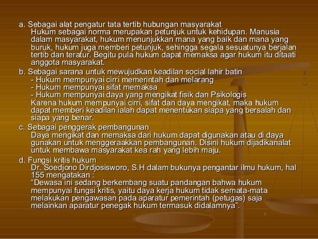Hukum di Indonesia