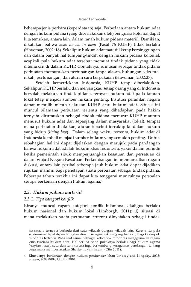 Hukum Pidana Criminal Law