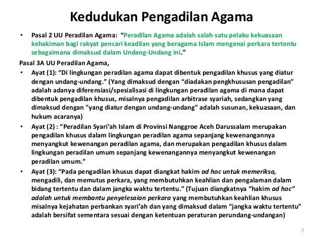 Hukum Acara Pengadilan Agama