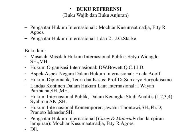 Hukum internasional Slide 2