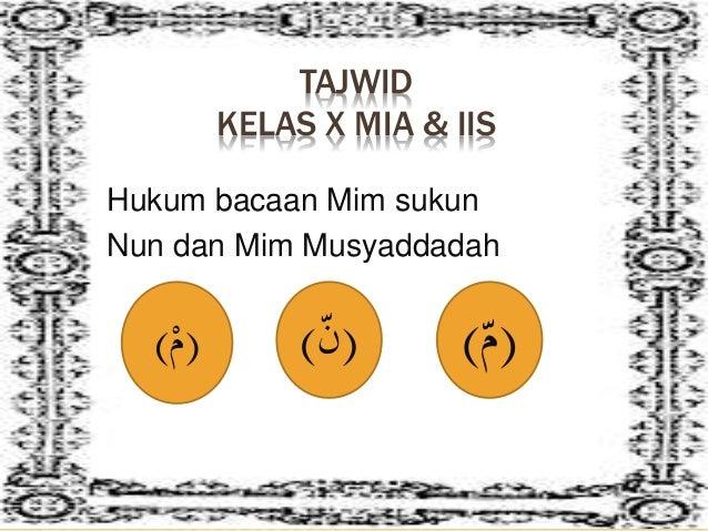 Hukum Mim Sukun
