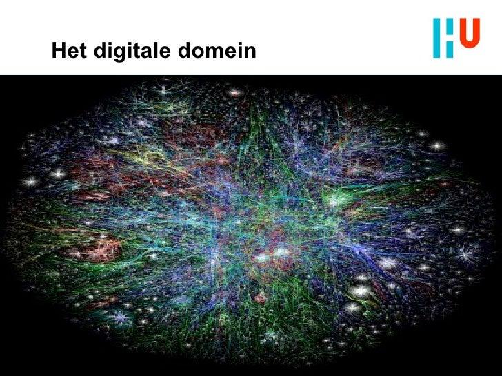 Het digitale domein