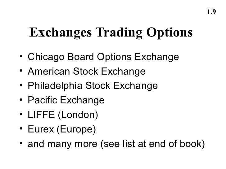Stock options eurex