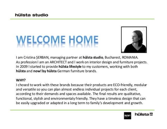 I am Cristina ȘERBAN, managing partner at hülsta studio, Bucharest, ROMANIA. As profession l am an ARCHITECT and l work on...