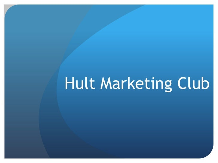 Hult Marketing Club <br />
