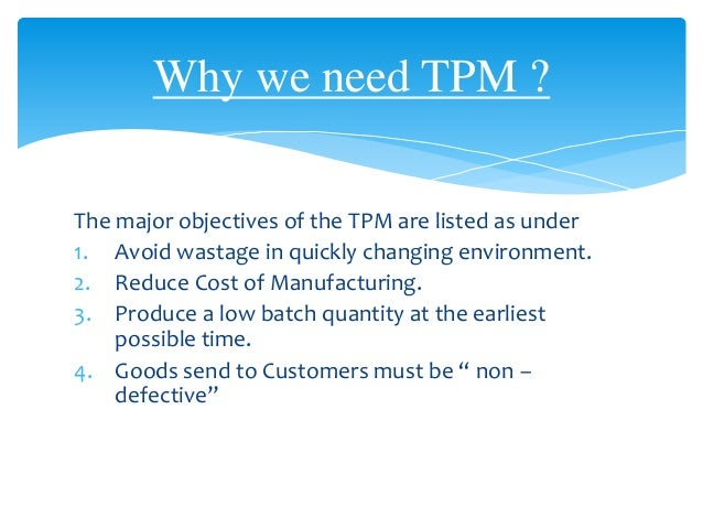case on tqm Total quality management (tqm) consists of organization-wide efforts to install and make permanent a climate in which an organization continuously improves its.