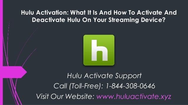 Deactivate hulu device