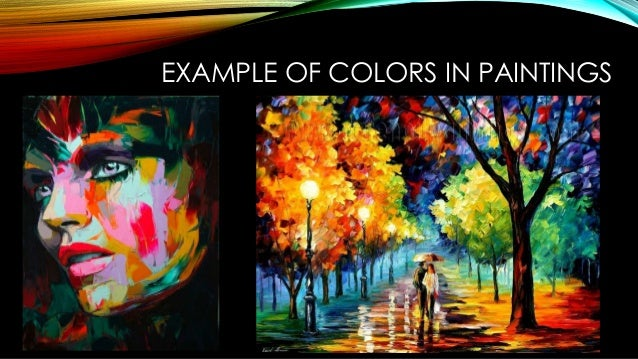 Visual Elements Of Art Examples : The elements of visual arts and performing