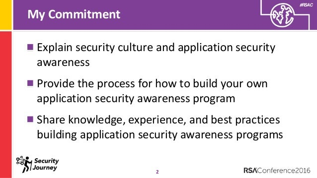 Appsec awareness a blueprint for security culture change malvernweather Gallery