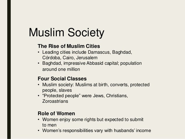 muslim single women in four states The muslim woman status, rights  islam regards men and women as being of the same essence created from a single  the prophet states emphatically that the.