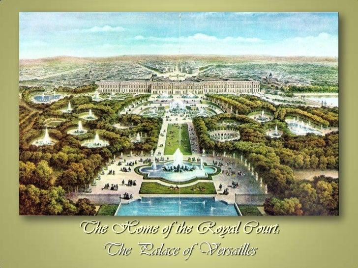 french palace versailles