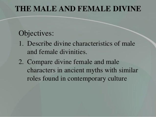 HUM 105 - Male and Female Divine Slide 2