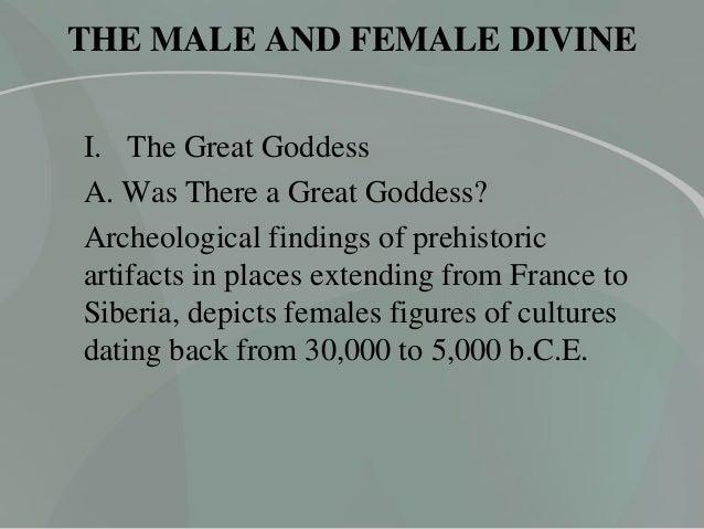HUM 105 - Male and Female Divine Slide 3