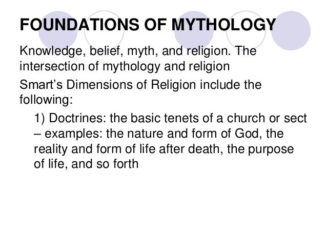 basic dimensions of religion