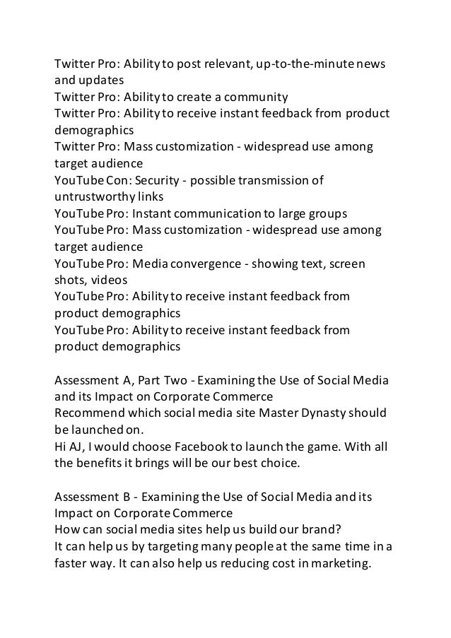 hum 176 effects of mass media Hum 176 uop tutorial course/uoptutorial hum 176 week 1 individual assignment effects of mass media worksheet.