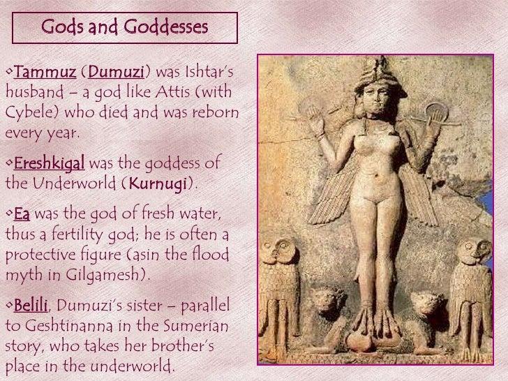 Resultado de imagen de Tammuz, and Gilgamesh
