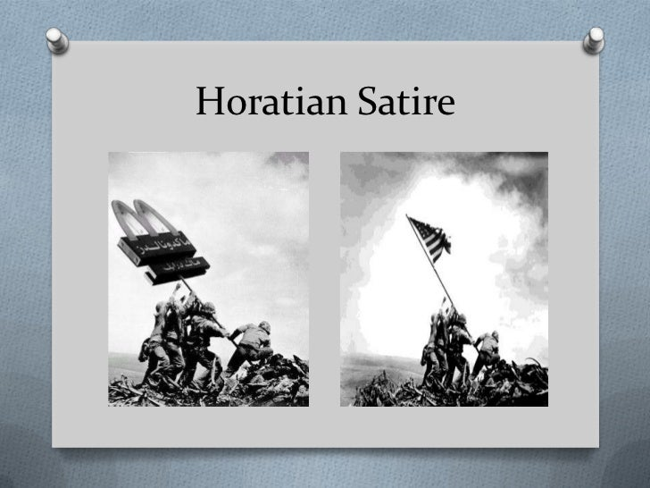 juvenalian and horatian satire Juvenalian and horatian satire satire is a sort of glass, wherein beholders do generally discover everybody's face but their own which is the chief reason for that kind of reception it.