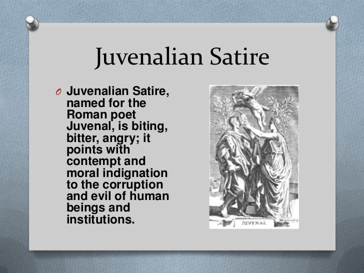 A comparison of horatian and juvenalian satire in literature