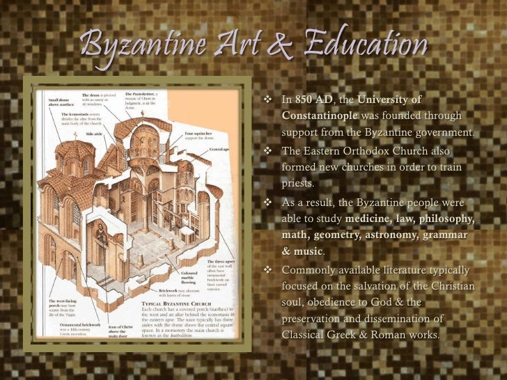 the focus on the arts and its preservation by the byzantine empire The persian empire is the name used to refer to a  the byzantine emperor heraclius had successfully  the ilkhans patronized the arts and learning in.