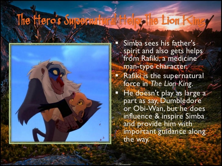 lion king archetypes