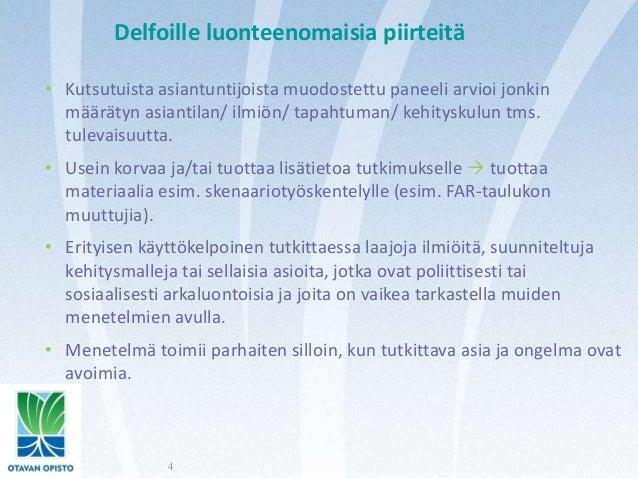 Delfoi Menetelmä