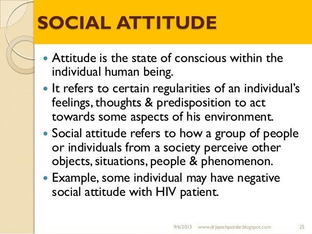 human attitude towards environment