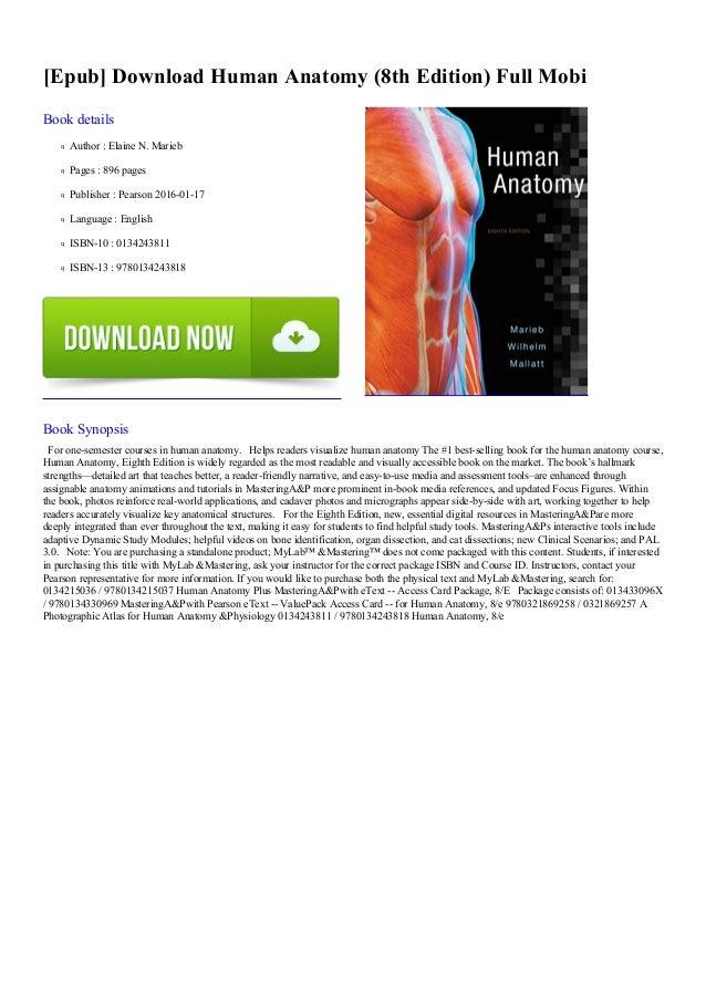 Human Anatomy 8th Edition