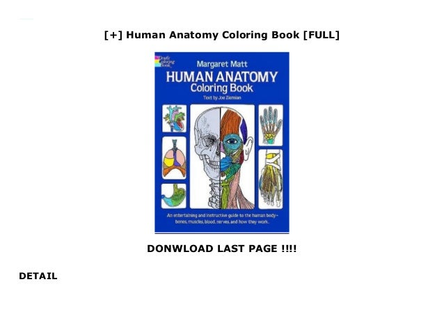 - Human Anatomy Coloring Book [FULL]