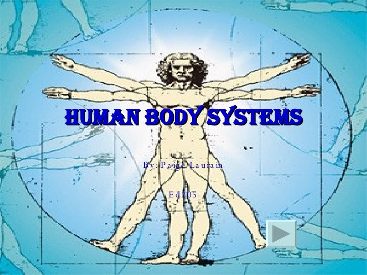 Human Body Systems By: Paige Laurain Ed205